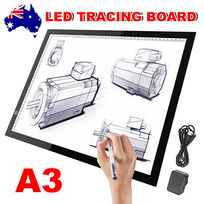Ultra A3 LED Light Box Tracing Board Art Design Stencil Drawing Copy Lightbox EC