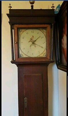 GRANDFATHER CLOCK 1815 by Humphrey Jones of Oswestry England.