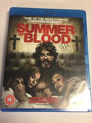 Summer of Blood (Blu-ray,2015) Brand New Factory Sealed!! (UK IMPORT)
