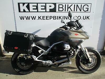 2009 Moto Guzzi 1200 Stelvio Ntx Abs  23299 Miles.  Panniers. Adjustable Screen.