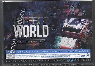 Scandal: Arena Live 2015-2016 Perfect World (2016) DVD