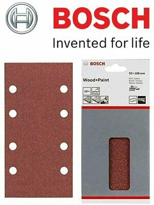 Bosch Sanding Sheets for Wood & Paint (10/Pack Mixed Grit) (For: Bosch PSS 200A)