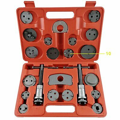 22pcs Universal Disc Brake Caliper Brake Piston Wind Back Rewind Hand Tools Kit
