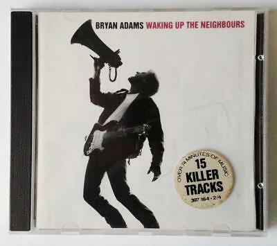 Bryan Adams Waking Up The Neighbours A&M Records Cd - Excellent Used 1992