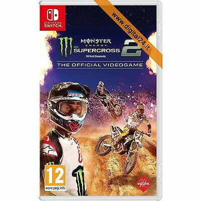 Monster Energy Supercross 2 - The Official Videogame - Nintendo Switch