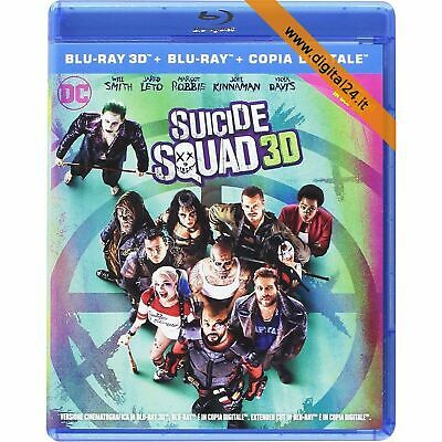 Suicide Squad - 3D (2 Blu-Ray)
