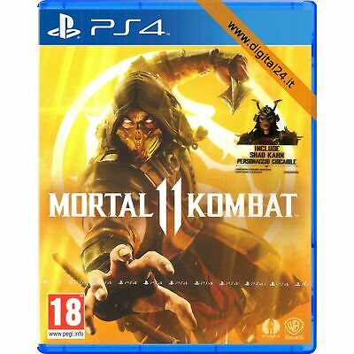 Mortal Kombat 11 - PlayStation 4 PS4 [NUOVO ITALIANO] {DISPONIBILE ORA}