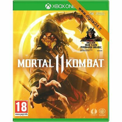 Mortal Kombat 11 - XBOX One [NUOVO ITALIANO] {DISPONIBILE ORA}