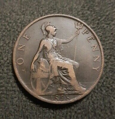 1898 Great Britain One Penny