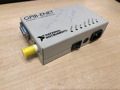 National Instruments GPIB-ENET Ethernet to IEEE 488 Controller (PR)