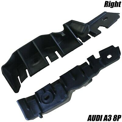 Audi A3 8P 2008 - 2012 Front Right Bumper Support Moulding Bracket 8P0807184B