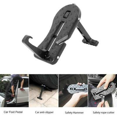 Car Door Latch Mini Hook Step Foot Pedal Ladder Folding For Jeep SUV Truck Roof