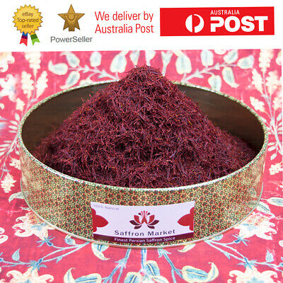 200 Grams Pure Premium Quality Saffron Threads Highest Grade All Red Negin A+
