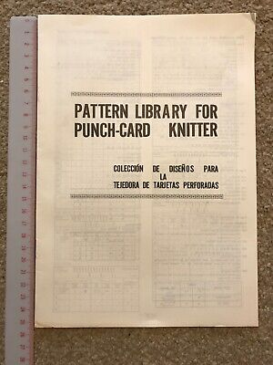 Pattern Library For Punch-card Knitter