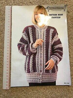 Denys Burton Designer Yarns Machine Knitting Pattern Book 18