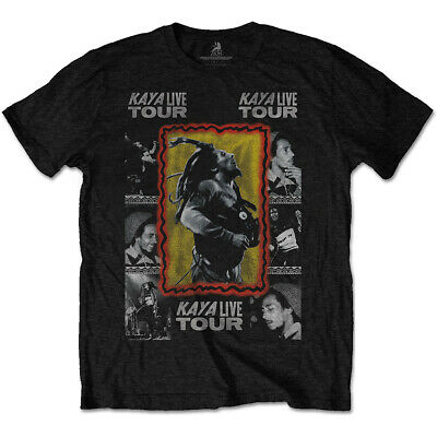 Bob Marley and the Wailers Kaya Live Tour Official Tee T-Shirt Mens Unisex
