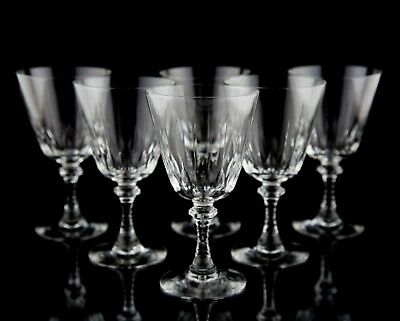 Imperial Glass Nobility Clear Water Goblet Glasses, Set of (6), Vintage Stemware