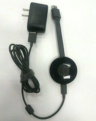 Google Chromecast (2nd Generation) HD Media Streamer | Tested FAST SHIPPING>
