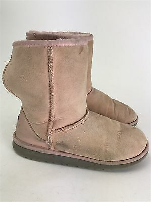 b2a35374a04 UGG AUSTRALIA #5251 Classic Short Chocolate Brown Suede Winter Boots ...