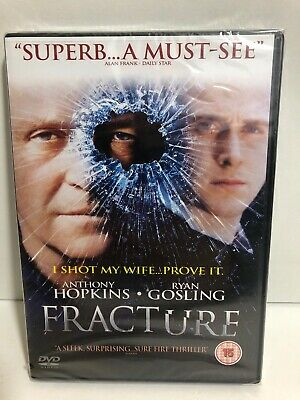 Fracture Anthony Hopkins Ryan Gosling  Region 2 DVD BRAND NEW AND SEALED