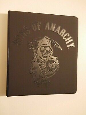 Sons Of Anarchy Ultra RARE Official Binder