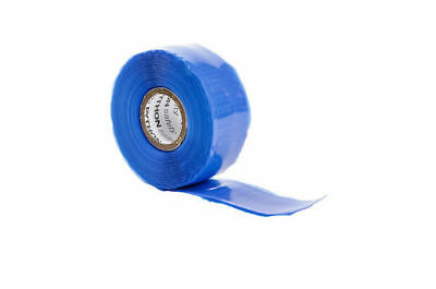 "25 Rolls DBI SALA 1500038 Python Safety Quick Wrap Tape Blue 1"" Wide 2X Length"