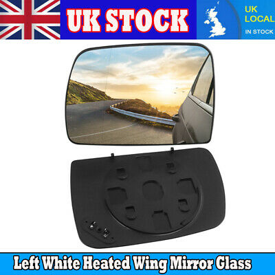 For BMW E53 X5 00-06 Driver Left Heated Door Mirror Glass Genuine 51168408797