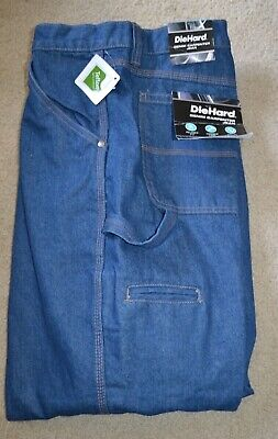 4233c1f2 DIE HARD MENS Size 48 x 30 Carpenter Jeans Work Pants New With Tags ...