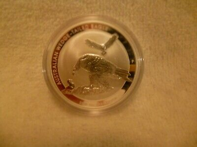 2018 Australian 1 Ounce Silver Wedge Tailed Eagle Reverse Proof Coin .999 Fine a