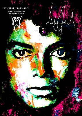 a375142414c Michael Jackson Poster Retro effect - Tribute  211 - A3 - 420mm x 297mm (