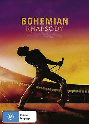 BOHEMIAN RHAPSODY 2018 Queen Movie DVD NEW