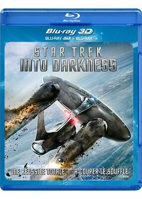 Blu-ray 3d (seul) STAR TREK INTO DARKNESS - sans boîtier. VERSION FRANCAISE.