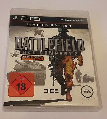 Battlefield - Bad Company 2 - Limited Edition - 100% Uncut - PS3 Spiel