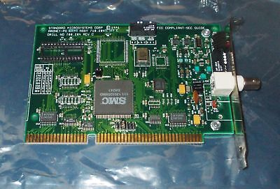 ISA ArcNet SMC PC Card Karte 16-Bit ISA PC 600WS ASSY 710.204 01