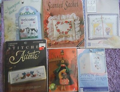 Choose One: Designs For The Needle Counted Cross Stitch Kits Card/novelty