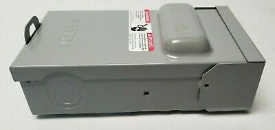 SIE ENCLOSED PULLOUT Switch 60/50/40/30 Amp Fused ... on