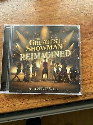 THE GREATEST SHOWMAN REIMAGINED - CD PLAYED ONCE - Jess Glynne PINK KESHA...