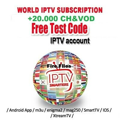 1 Month PREMIUM IPTV Subscription FHD&SD (MAG, iOS, Android, SMART TV, firestick