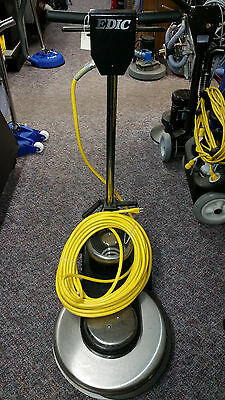 "EDIC Saturn 20HS2000-SS Stainless Steel Floor Burnisher Polisher 20"" 2000rpm"