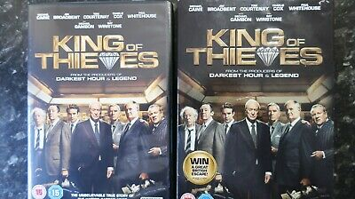 King of Thieves 2018 DVD PAL with sleeve - SUPERB CONDITION !