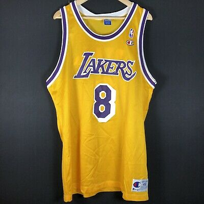 NEW Rookie Champion Kobe Bryant LAKERS XL NBA Trikot Basketball Jersey Champion