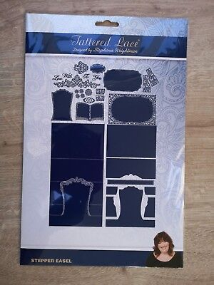 Tattered Lace Dies - Stepper Easel Card Base