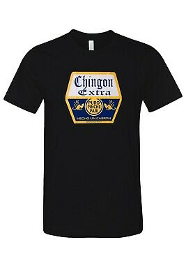 99c093437 Mexican Chingon Extra Patron Hecho En Mexico Casual Black T-Shirts New