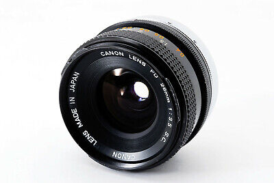 **AS IS** Canon FD 28mm F/3.5 S.C. FD/FL Mount Wide Angle Lens From Japan A0252