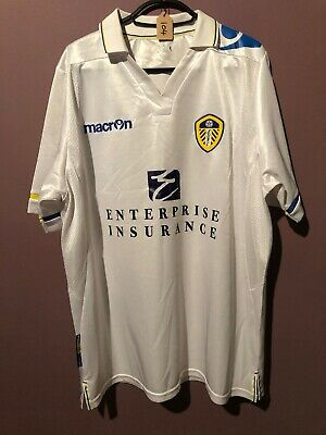 Leeds United 2011-2012 Home Shirt Size 46""