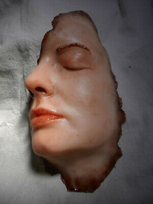 Horror Props Silicone Face Dead Graphic Gore ZOMBIE Halloween Body Parts Movie