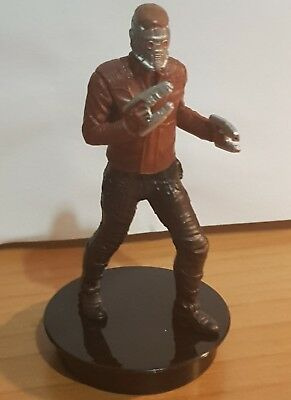 Marvel topper cinema guardians of the galaxy STAR LORD 7cm nuovo new PETER QUILL
