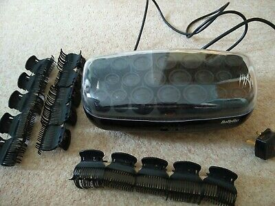 Babyliss Thermo Ceramic Heated Rollers Hair Curlers with Clips