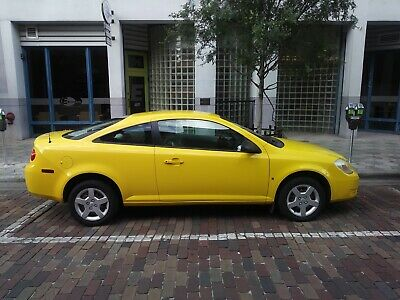 2007 Chevrolet Cobalt  Chevrolet Cobalt 2007 Yellow LS Manual Shift Used Sold As Is 131000 mi.