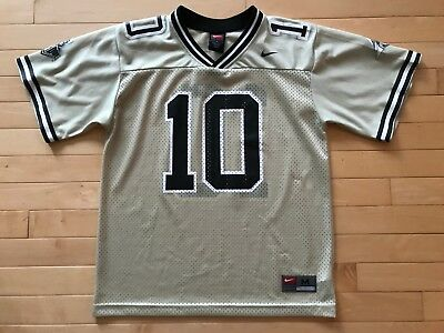 6f85348c NEW YOUTH NIKE Purdue Boilermakers Football Jersey #8 Black & Gold ...